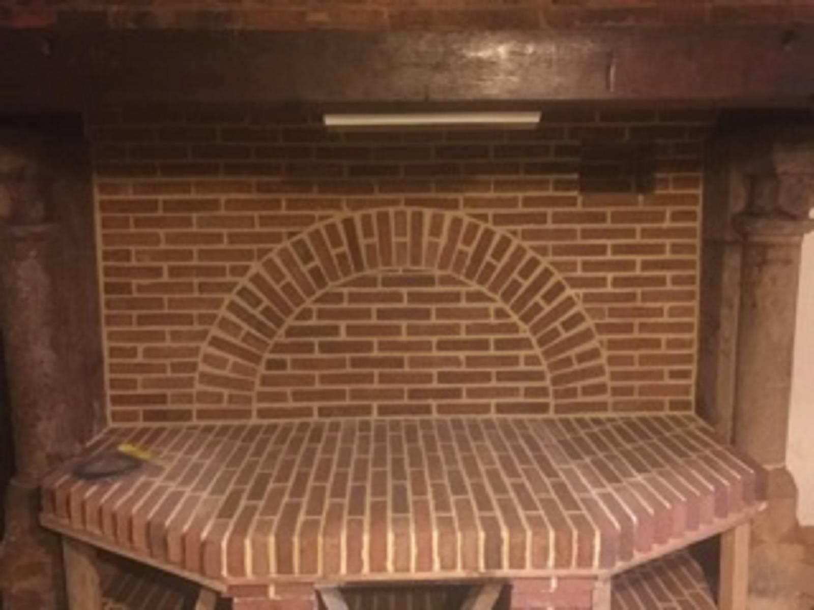Renovation De Cheminee Ancienne rénovation d'un foyer âtre, cheminée en brique pleines