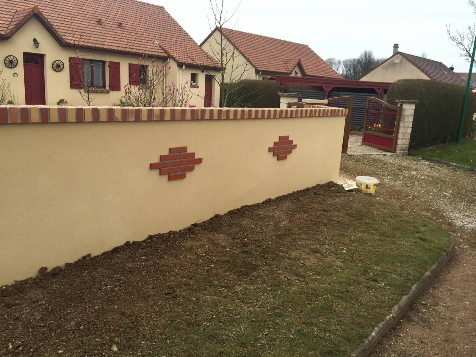 aménagement de murs de clôture extérieur proche valmont 76